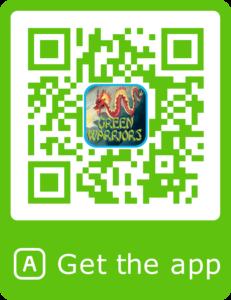 Green Warriors QR code